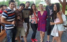 Farewell party for Erasmus students 2013/14