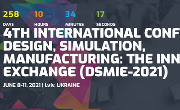 4th International Conference on Design, Simulation, Production: Innovation Exchange (DSMIE-2021)